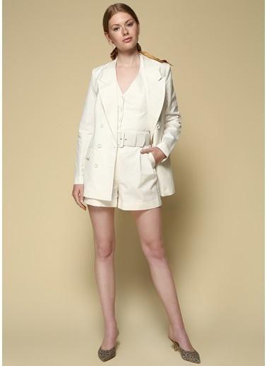 Faraway Ceket Beyaz